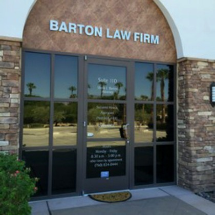 The Barton Law Firm in Palm Desert
